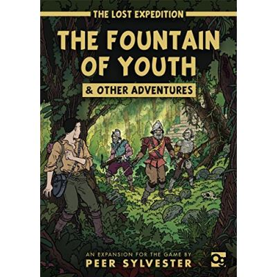 The Lost Expedition: The Fountain of Youth & Other Adventures - [Livre en VO]