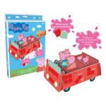 La voiture de Peppa Pig en mosaïques Lansay