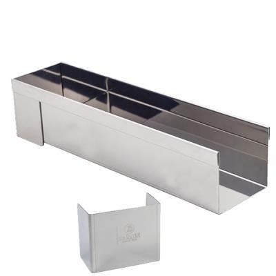 Gouttière inox rectangulaire De buyer 3205.30