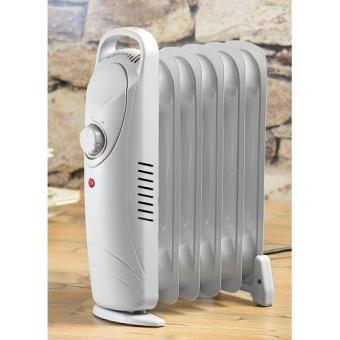 radiateur lectrique mobile avec chauffage bain d 39 huile achat prix fnac. Black Bedroom Furniture Sets. Home Design Ideas