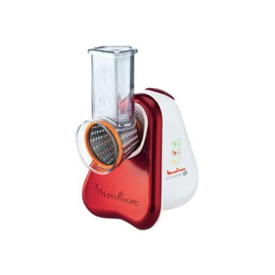 Moulinex Fresh Express Plus DJ756G Ruby Red - Râpe électrique - 150 Watt - rouge métallique/blanc