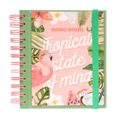 Agenda Scolaire Journalier 2019/2020 Tropical Summer M