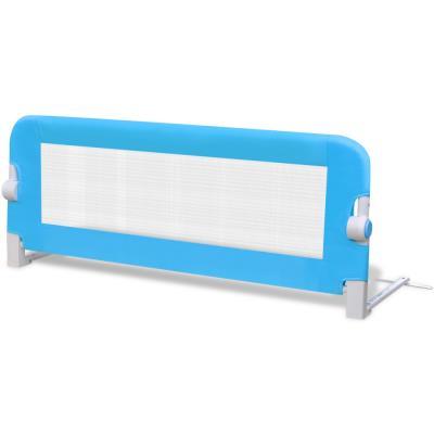 vidaXL Barrières de lit pour enfants 102 x 42 cm Bleu
