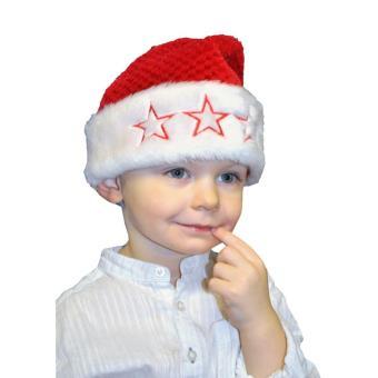 Bonnet Noel Enfant BonPère Noël Enfant   Accessoire de déguisement   Achat & prix