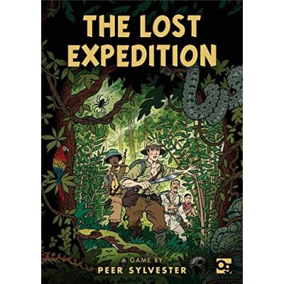 The Lost Expedition: A Game of Survival in the Amazon - [Livre en VO]
