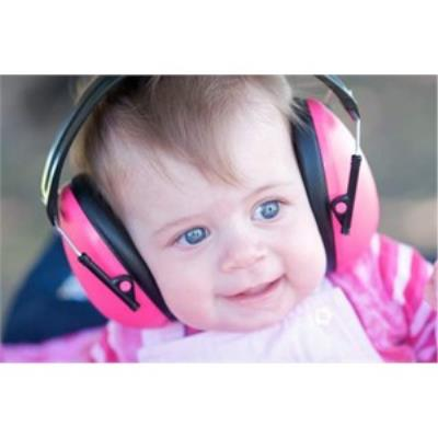 Casque anti-bruit enfant rose Banz