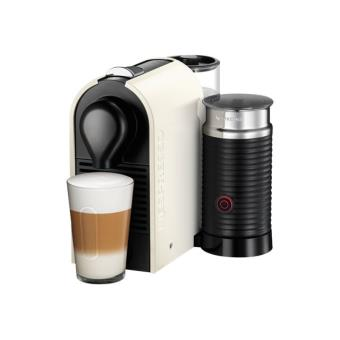 krups nespresso u xn 2601 machine caf avec buse vapeur cappuccino 19 bar cr me pur. Black Bedroom Furniture Sets. Home Design Ideas