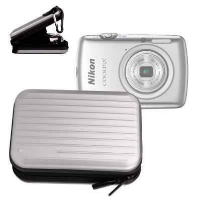 Etui en aluminium léger pour Nikon Coolpix S5100, S6100, S6150, S100 et S80