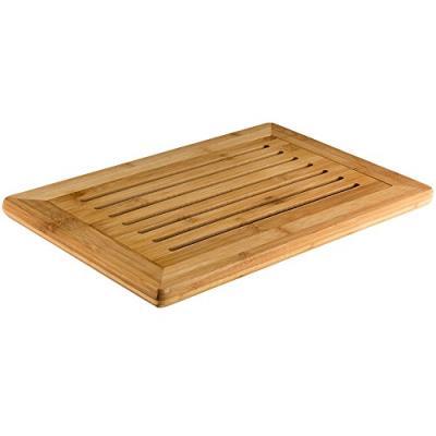 Kesper 58105 planche à découper plastique/bambou nature 42 x 28 x 2 cm