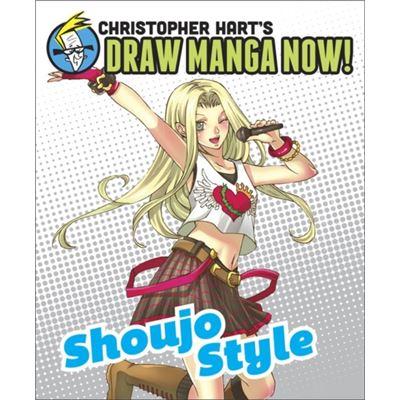 Shoujo Style (Christopher Hart'S Draw Manga Now!) (Paperback)