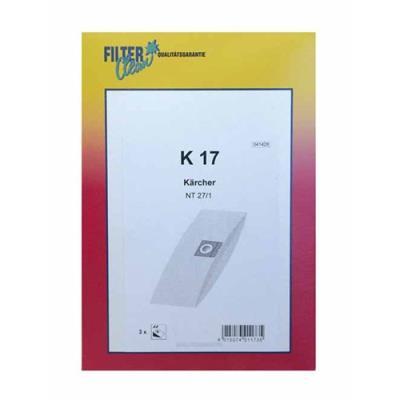 Karcher Sachet De Sacs X3 Karcher Ref: K17