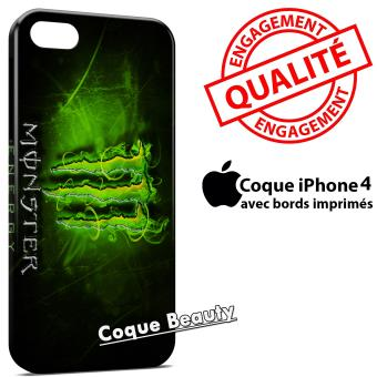 coque iphone 4 monster energy