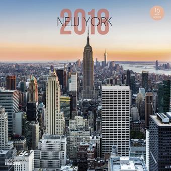 Calendrier City.Calendrier Grand Format New York City 2018 Agenda Civil