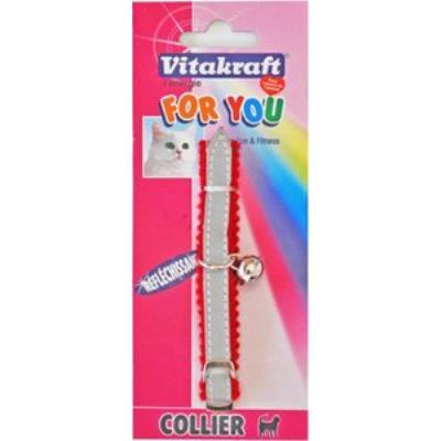 Collier Chat Réfléchissant Avec Clochette- Vitakraft