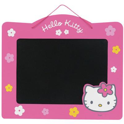 Hello Kitty - Tableau Magnetique A Suspendre Reversible Craie/feutre