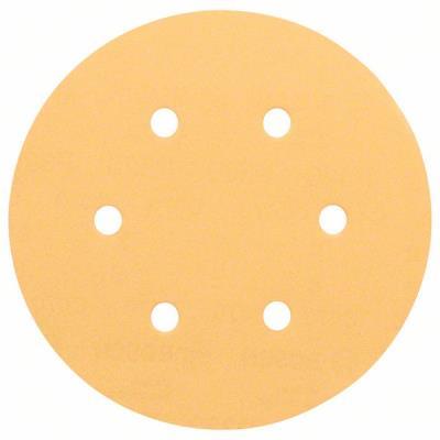 Lot De 50 Disques Abrasifs Best For Wood Ø150Mm 6 Trous Gr 100 Bosch 2608607836