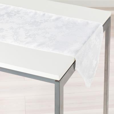 Chemin de table 40x140 FLORALIE BLANC