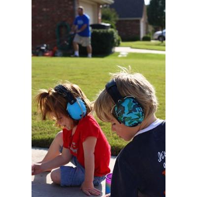 Casque anti-bruit enfant bleu Banz