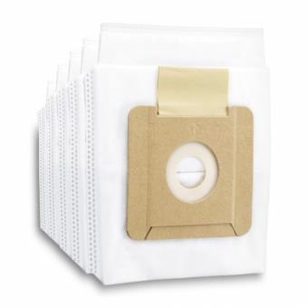 Pack de 5 sacs filtrants ouate non tissés pour l'aspirateur VC 2 Kärcher