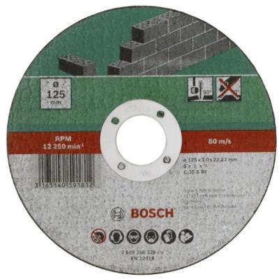 Bosch 2609256331 Disque à Tronçonner à Moyeu Plat Pour Matériaux Diamètre 230 Mm Diamètre D'Alésage 22/23 Epaisseur 3 Mm