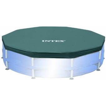 Intex 58406 accessoires piscines b che de protection pour piscine tubulaire ou gonflable - Accessoire gonflable pour piscine ...