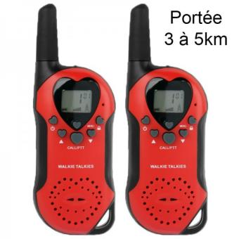 Sur Set Talkie Walkie Push To Talk Portée Km écran LCD - Talkie walkie longue portée 50 km