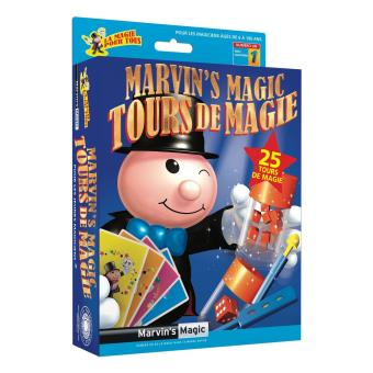 Coffret de magie Marvin's Magic N° 1 25 Tours de Magie