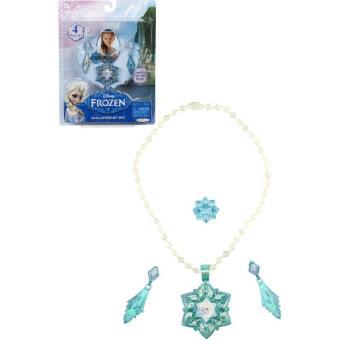 Disney , La Reine des Neiges , Les Bijoux d\u0027Elsa , 4 Pièces , Achat \u0026 prix
