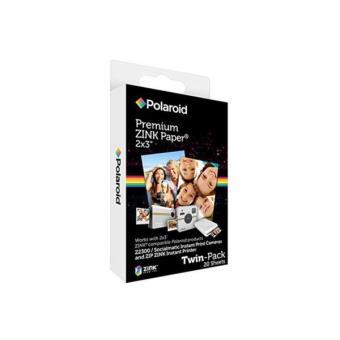 Pack Papier photo Polaroid 20 Films pour Z2300, ZIP et SNAP