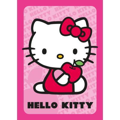 Tapis - Hello Kitty Pomme - rose 95x133 cm en Polypropylène