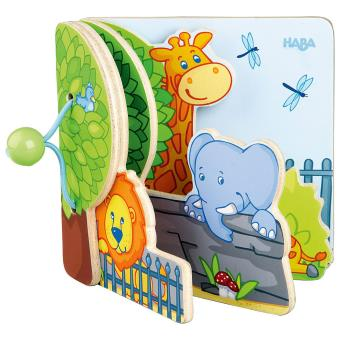 Livre Pour Bebe Les Amis Du Zoo Haba