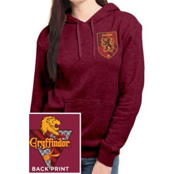 Harry Potter Sweater à Capuche Femme House Gryffindor Xxl