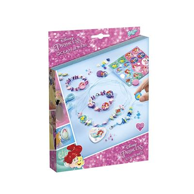 TOTUM - Bj44005 - Kit De Loisirs Créatifs - Disney Princess - Ocean Jewels