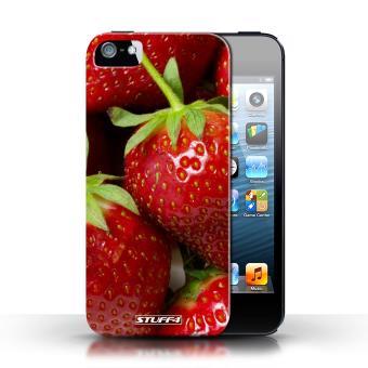 coque iphone 5 fraise