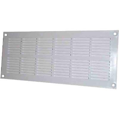 Dmo - Grille Plastique Plate Menuiserie À Visser 337 X 131 Mm