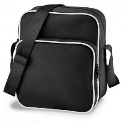 Sac bandoulière Retro Day Bag - BG26 - noir