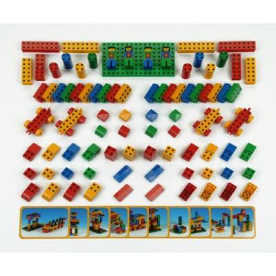 Klein - 0656 - jeu de construction - set ecole manetico \