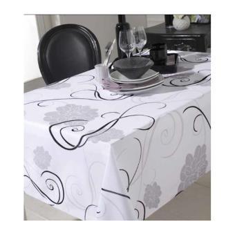 nappe rectangulaire 150 x 300 cm anti taches et sans repassage achat prix fnac. Black Bedroom Furniture Sets. Home Design Ideas