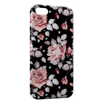 Coque iPhone 6S Fleurs Flowers Design 5
