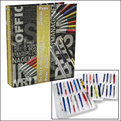Album pour 64 stylos de collection