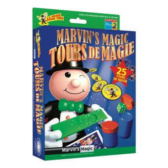 Coffret de magie Marvin's Magic N° 2 25 Tours de Magie