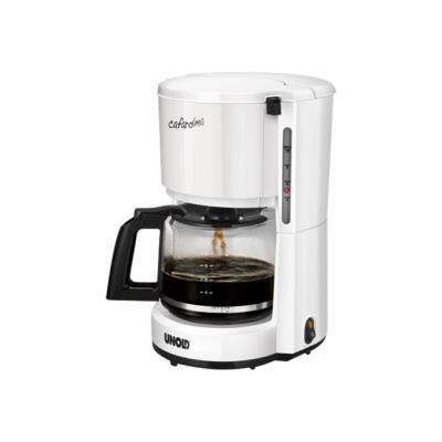 UNOLD Compact 28120 - Cafetière - 10 tasses - Blanc brillant