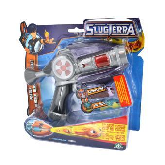 Pistolet Slugterra Basic Blaster Avec 2 Slugs Gris Giochi