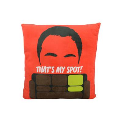 United Labels - The Big Bang Theory coussin peluche That's My Spot 40 x 40 cm
