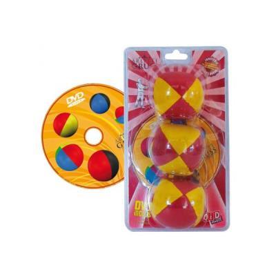 Balles de jonglage + dvd