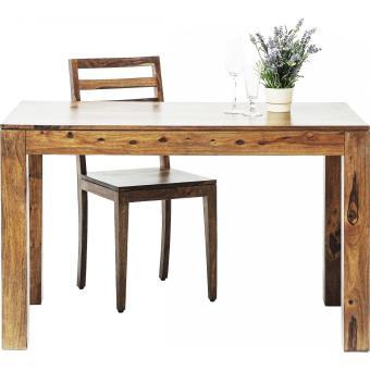 Table En Bois Authentico 120x70 Cm Kare Design Achat Prix Fnac
