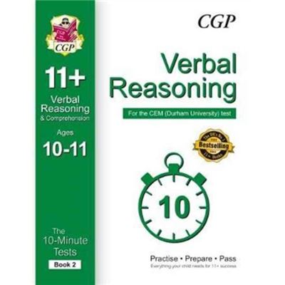 10Minute Tests For 11 Verbal Reasoning A