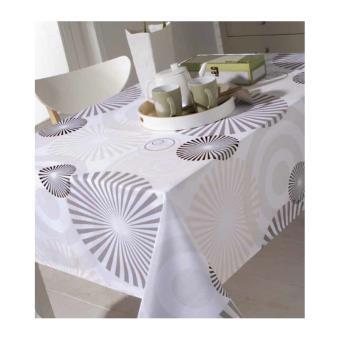 nappe rectangulaire 150 x 250 cm anti taches et sans repassage achat prix fnac. Black Bedroom Furniture Sets. Home Design Ideas