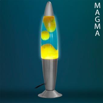 Lampe à Lave Magma fusée rouge