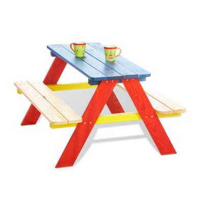 Pinolino - Table picnic Nicki pour 4 enfants - multicolore
